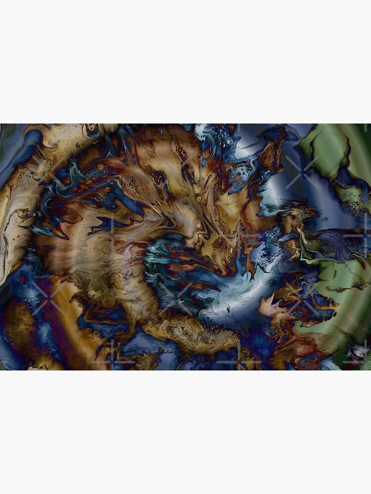 Sea Serpent Swimming by kerravonsen