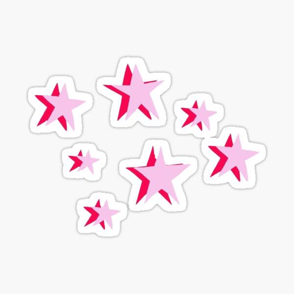 pack d'autocollants étoiles Sticker