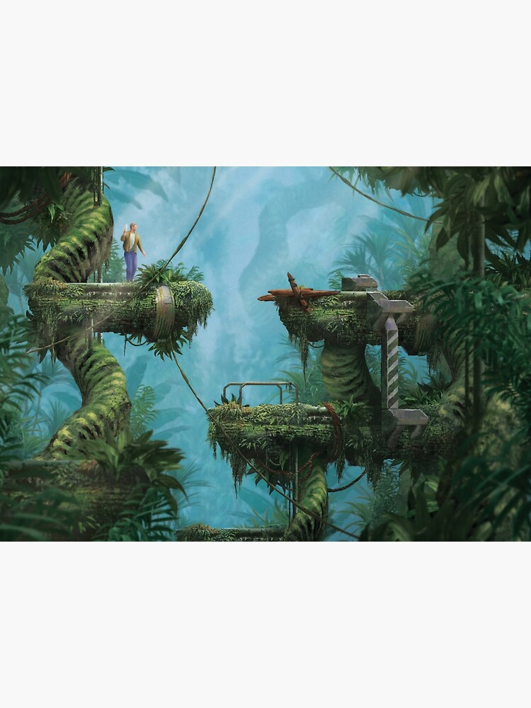Amnesic Jungle (Only 35 prints!) by orioto