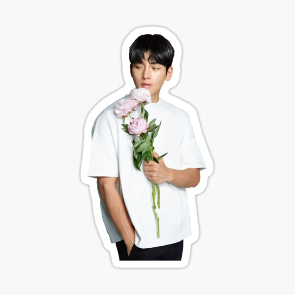 Floral Ji Chang Wook Sticker