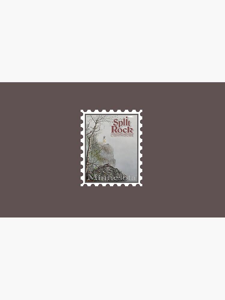 Split Rock Lighthouse Stamp by tsarts
