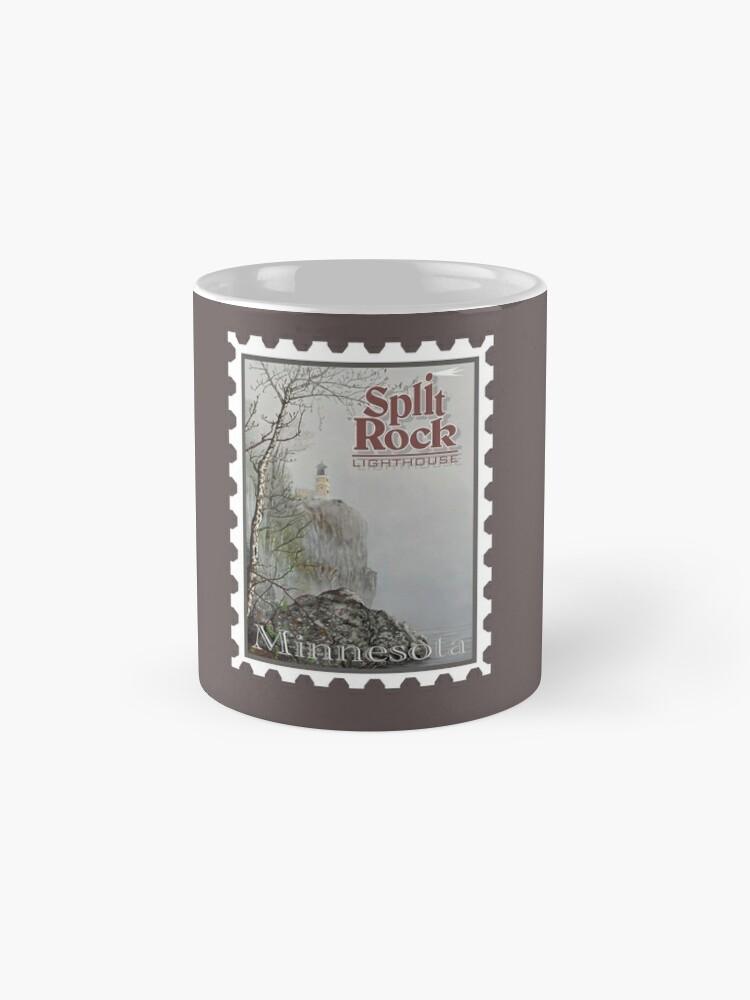 Alternate view of Split Rock Lighthouse Stamp Mug