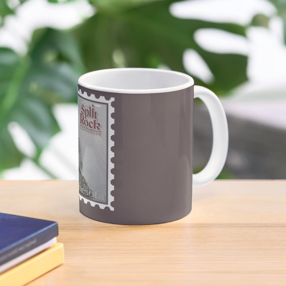 Split Rock Lighthouse Stamp Mug