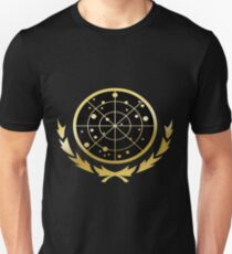 United Federation of Planets Logo: Gold Version Unisex T-Shirt