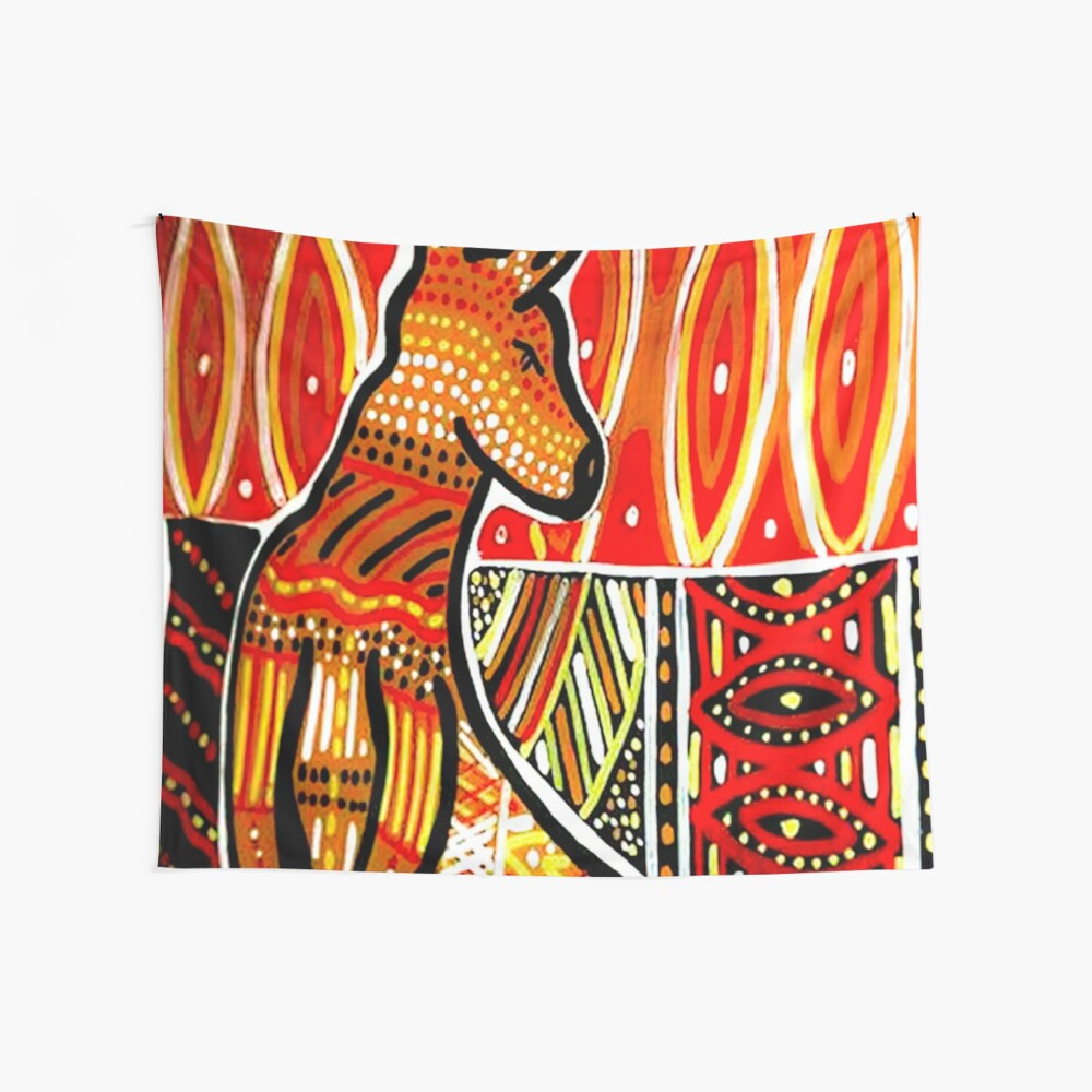Kultur der Ureinwohner Wandbehang