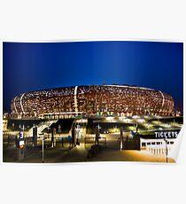 FNB Stadium - National Stadium (Soccer City) Poster