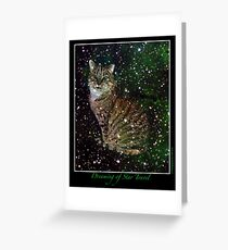 Dreaming of Star Travel Greeting Card