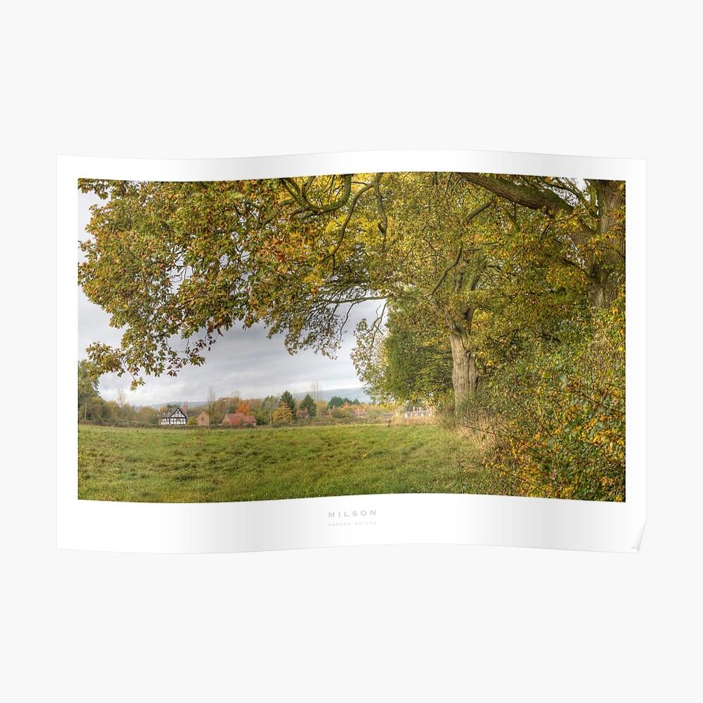 Milson, Shropshire Poster