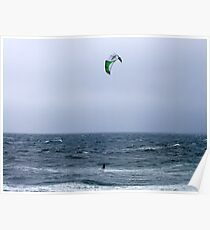 A Breezy Day Poster