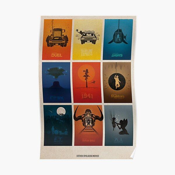 Films de Spielberg Poster