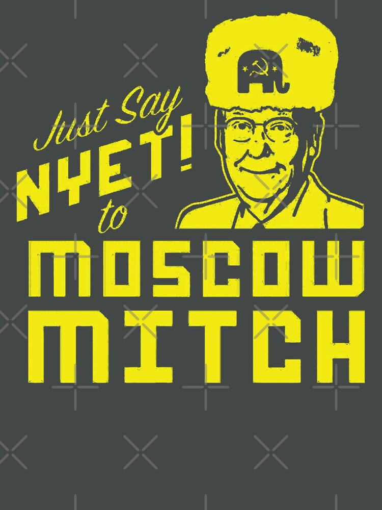Just Say Nyet to Moscow Mitch - Russian Asset by poland-ball
