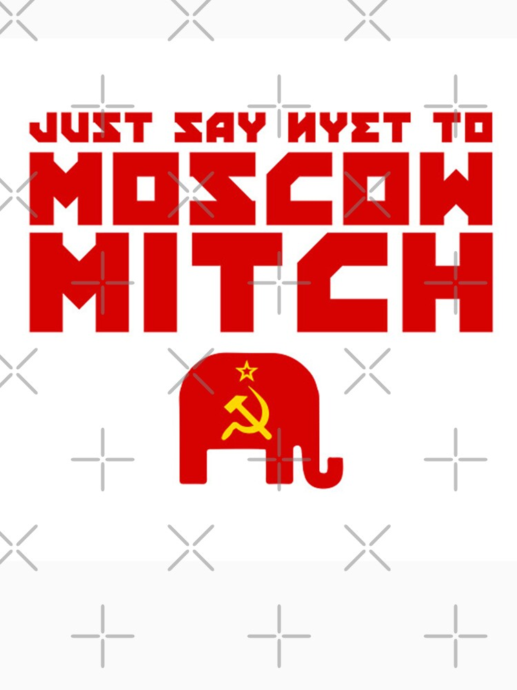 Just Say Nyet to Moscow Mitch - Republican Verssion by poland-ball