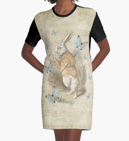 Conejo blanco - Alicia en el país de las maravillas Vestido camiseta
