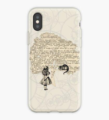 Libro de Alicia en el País de las Maravillas Vinilo o funda para iPhone