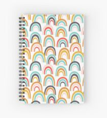 Rainbow Skies Spiral Notebook