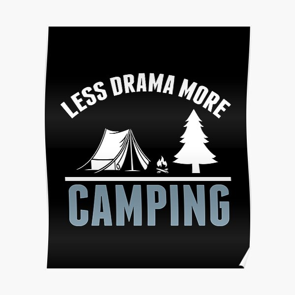 Life Is Simple Eat Sleep Camp WOMENS T-SHIRT Camping Camper Tent birthday gift