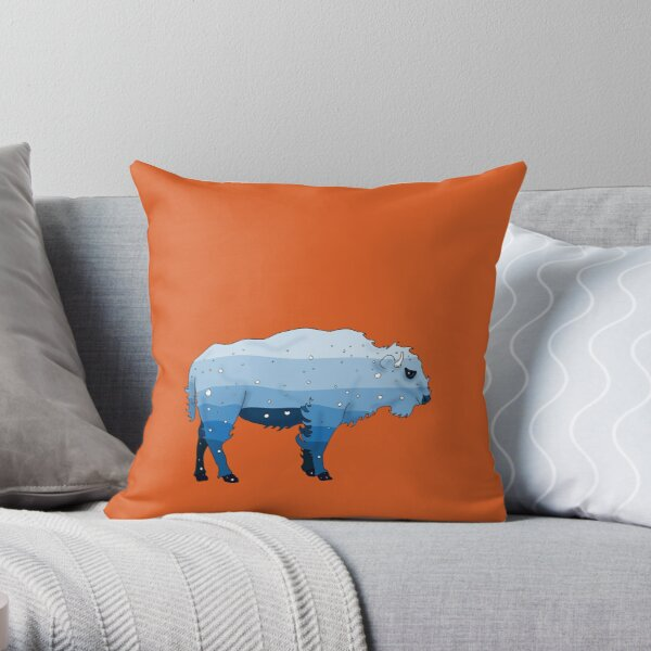 WaterBuffalo Throw Pillow