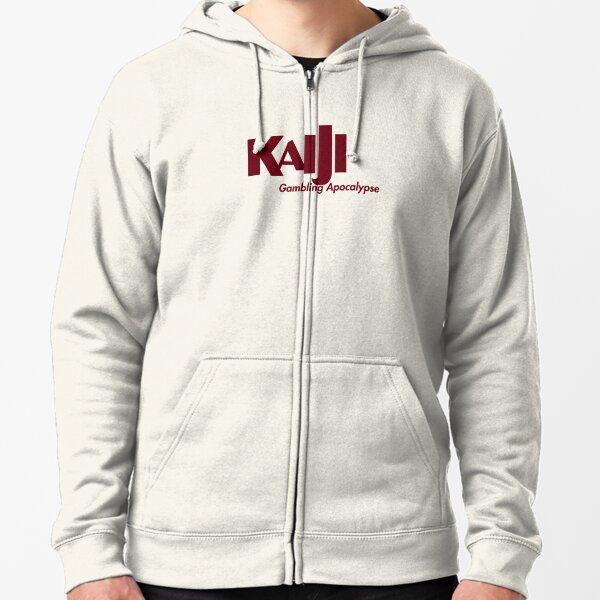 Kaiji : gambling apocalypse Zipped Hoodie
