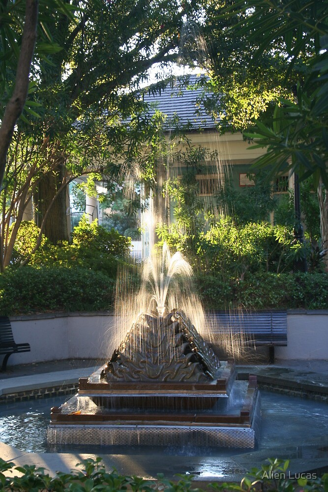 Fountain at Latrobe's Waterworks by Allen Lucas