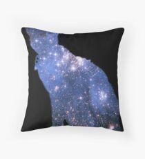 Starry Starry Gremlin Throw Pillow