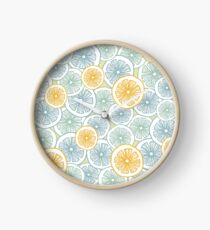 Citrus Medley Clock