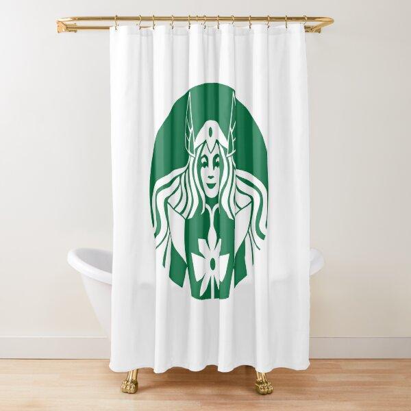 SheBucks Shower Curtain