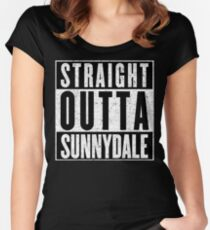 Sunnydale Represent! Women's Fitted Scoop T-Shirt
