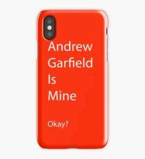 Andrew Garfield is Mine iPhone Case