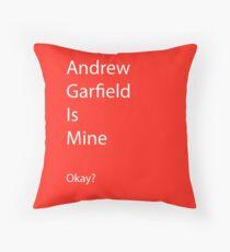Andrew Garfield is Mine Throw Pillow