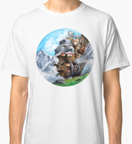 Howl's Moving Castle (Circle Scenery)  Classic T-Shirt