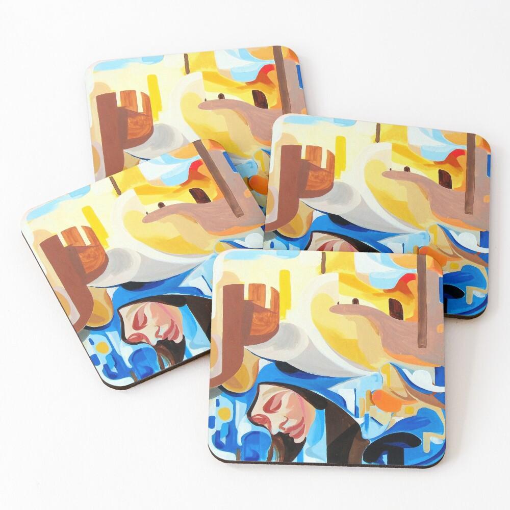 Introspection  Coasters (Set of 4)
