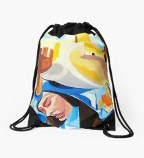 Introspection  Drawstring Bag