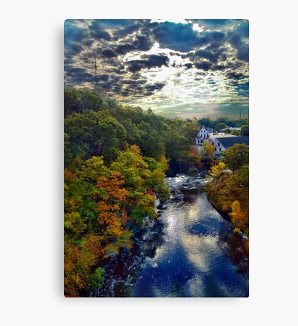 Hemlock Gorge Reservation II Canvas Print