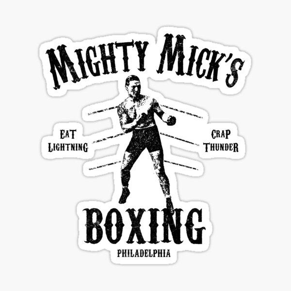 Rocky - Mighty Mick Pegatina