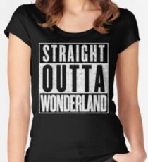 Wonderland Represent! Women's Fitted Scoop T-Shirt