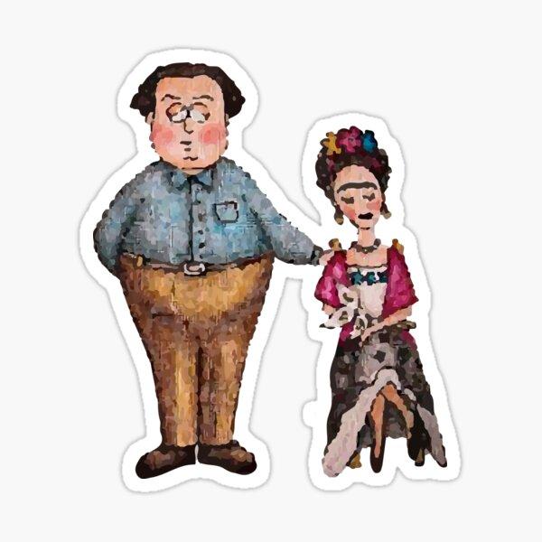 Frida & Diego Sticker