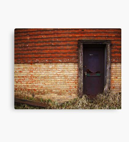 The Beer door Canvas Print