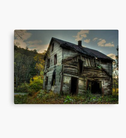 Barely Standing Canvas Print