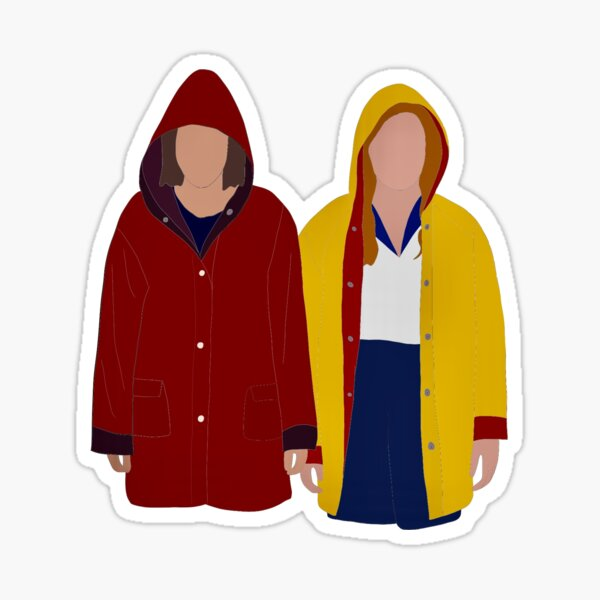Eleven & Max - Stranger Things Sticker