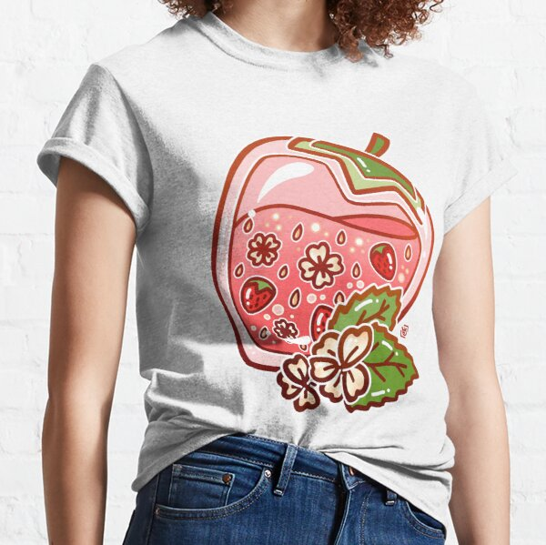 Glass Strawberry Classic T-Shirt