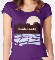 Reiden Lake (fringe) Fitted Scoop T-Shirt