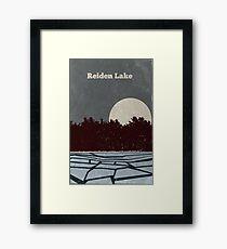 Reiden Lake (fringe) Framed Print