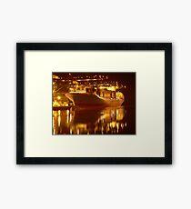 Tacoma Port Framed Print