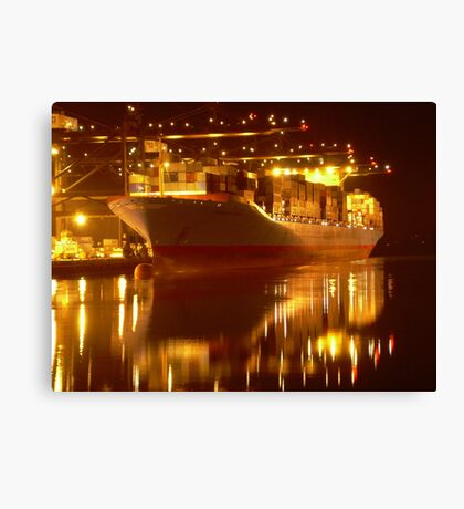 Tacoma Port Canvas Print