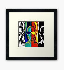 Cold as Ice, Hot as Fire Framed Print
