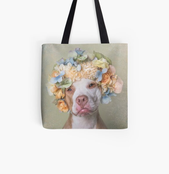 Flower Power, Lola All Over Print Tote Bag