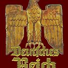 Gold Eagle of the German Empire by edsimoneit