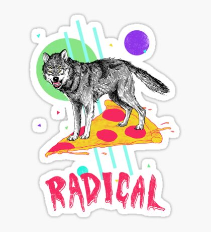 So Radical Sticker