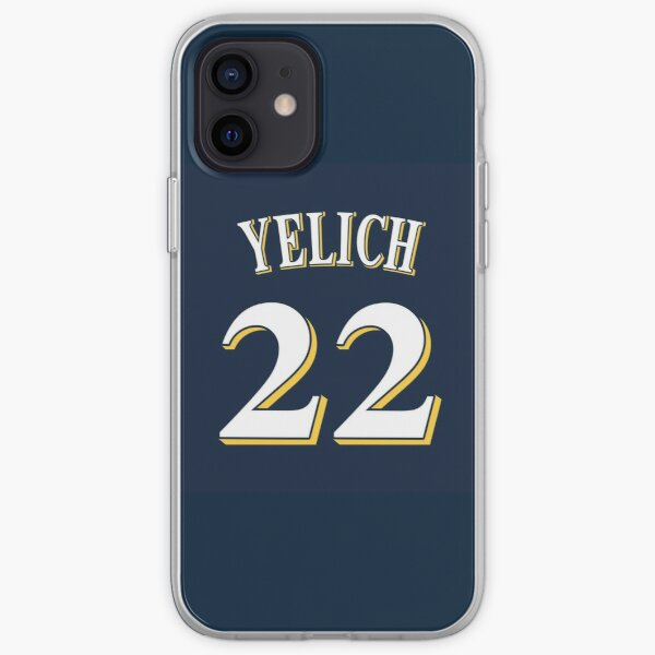 Christian Yelich Jersey iPhone Soft Case
