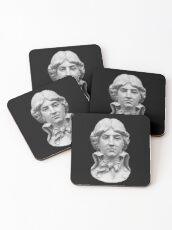 Louis Antoine de Saint-Just  portrait Coasters